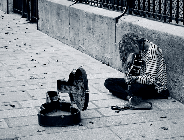 poor musician