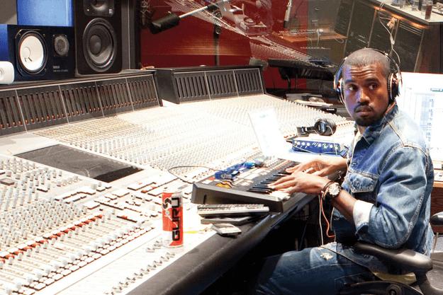 Kanye West recording
