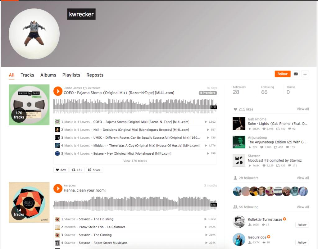high quality soundcloud follower
