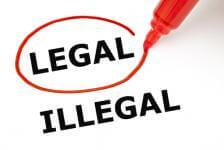 legal v illegal