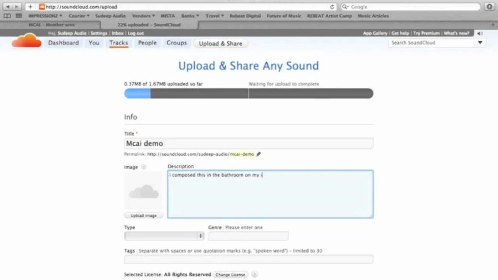 Как загрузить музыку на SoundCloud в 2020 году